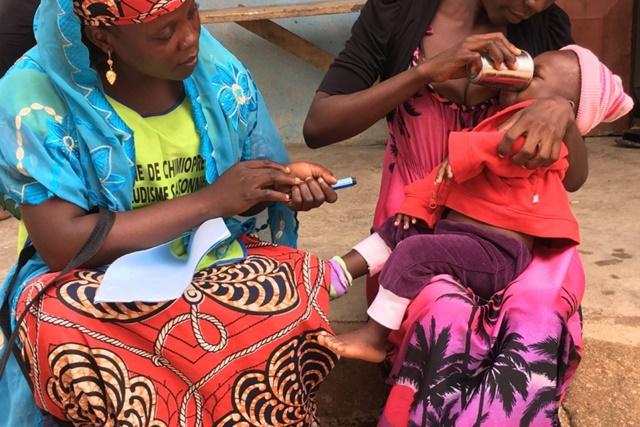 Malaria clinic in Cameroon
