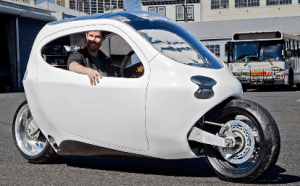 Lit Motors C-1 Self-Balancing Motorcycle