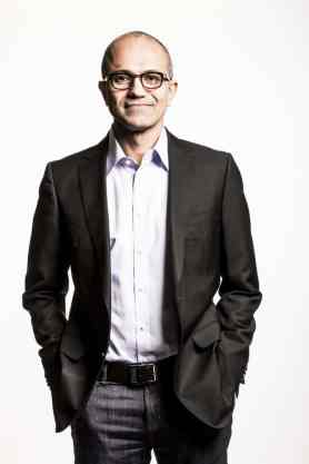 Satya Nadella, chief executive officer of Microsoft