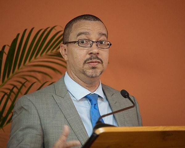 David Cox, Head – Regulatory Affairs & Policy, LIME Caribbean / Columbus Communication Trinidad Limited. Photograph by Mark Lyndersay