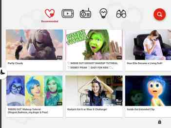 The YouTube Kids app filters inappropriate content for younger patrons of the video aggregation website.