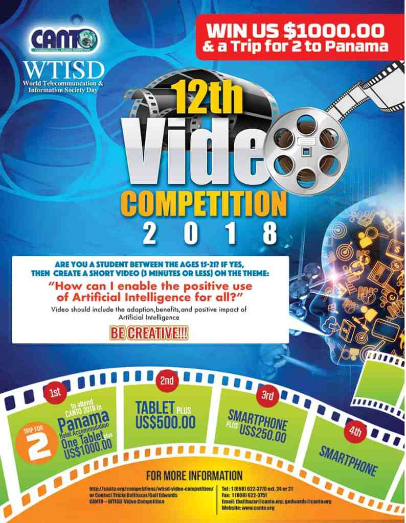 CANTO reaffirms commitment to Open Internet, announces video competition for 12th WTISD