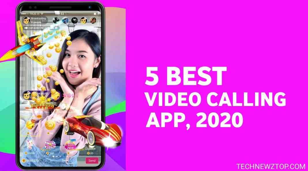 5 Best Video Calling App 2020 - technewztop.com