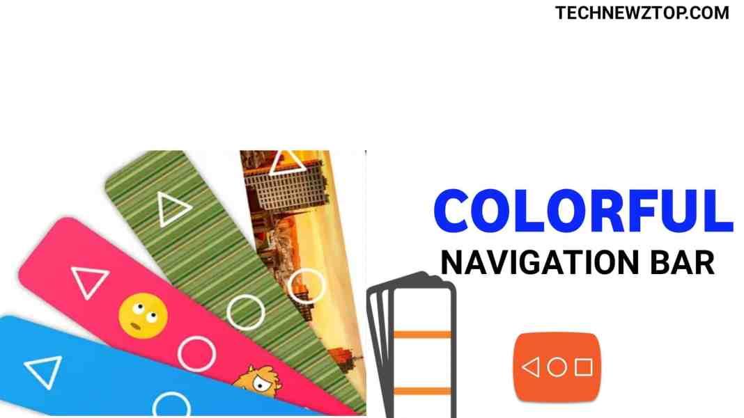 Colorful Custom Navigation Bar App - technewztop.com