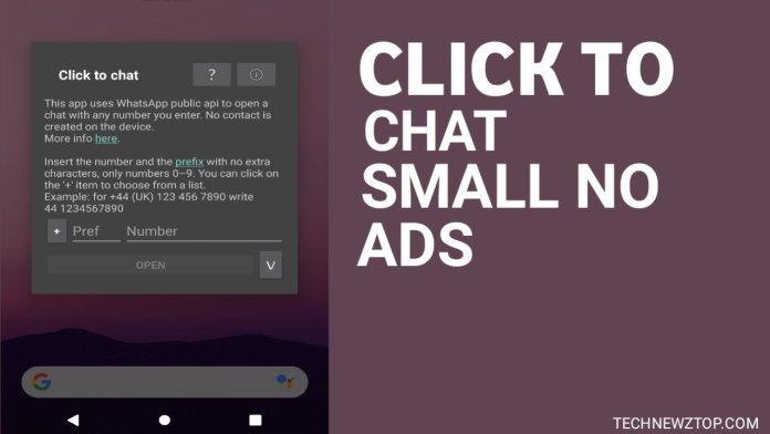 How you can chat direct via Whatsapp - technewztop.com