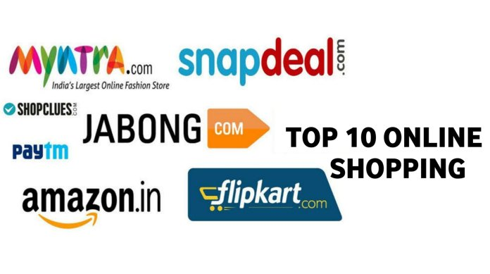Top 10 Online Shopping App In India - technewztop.com