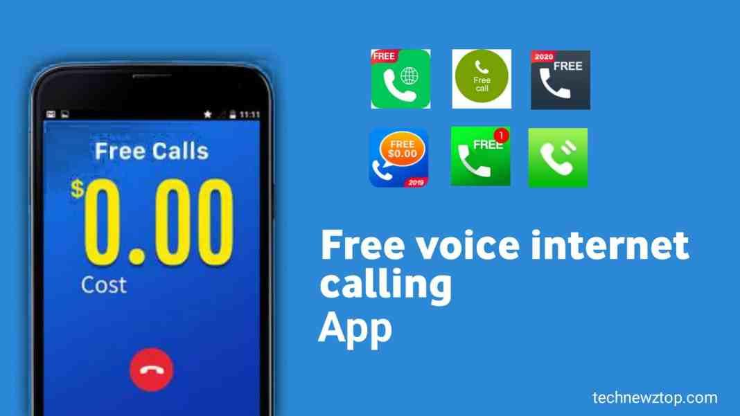 Top 5 free Voice Internet callingapp.