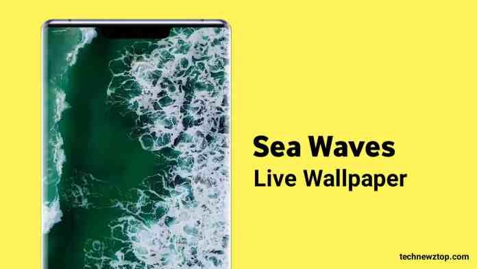 Sea wave Free 3D Live Wallpaper