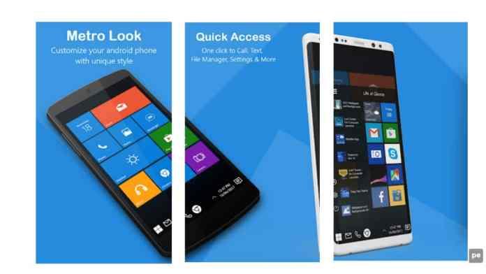 mobile like Windows 10.