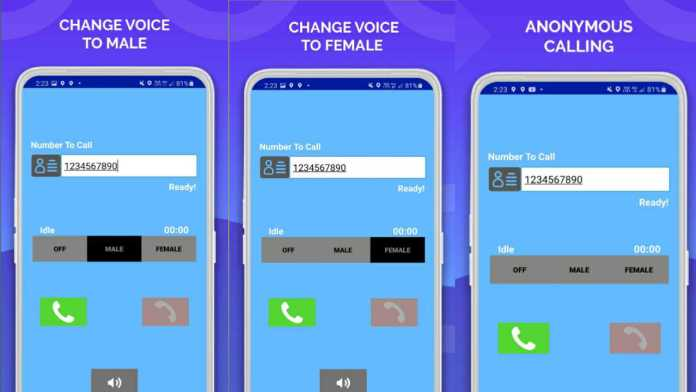 Phone Id Faker for Voice