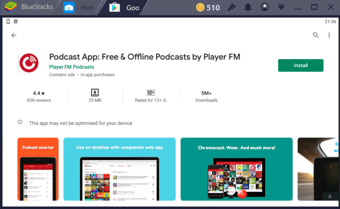 Podcast App for PC