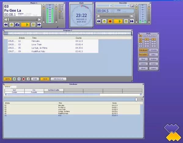 Winmedia logiciel automation radio automation