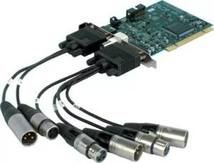 Marian Trace Pro carte pci audio-numerique broadcast