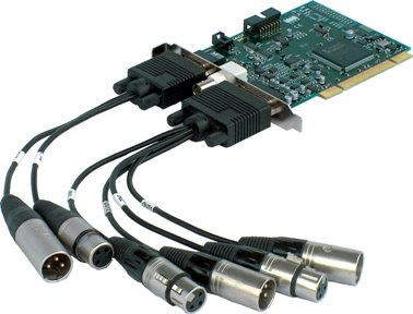 Marian Trace Pro carte pci audio-numerique  broadcast