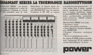 Publicité Power Broadcast