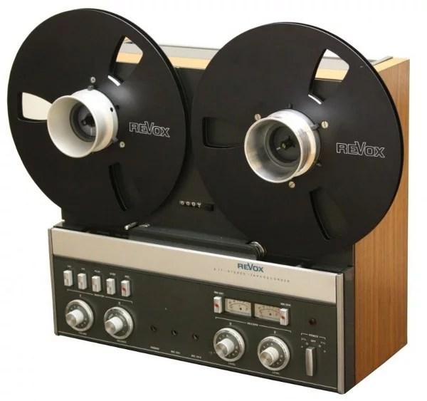 Revox-A77 Magnetophone a bande Studer