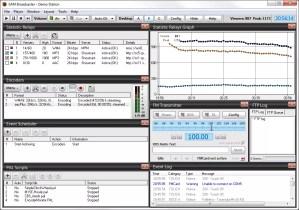 Statistiques Encoder Sam Broadcaster