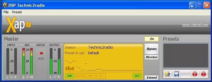 CaterX DSP AGC stereo expandeur radio technic2radio