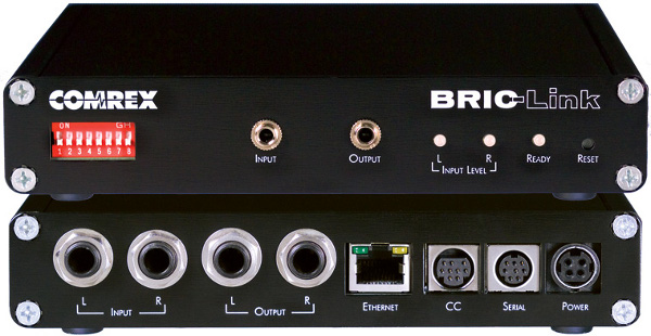 Comrex bric link codeur audio ip technic2radio