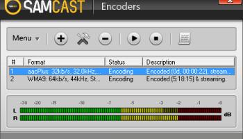 SAM Cast Encoder