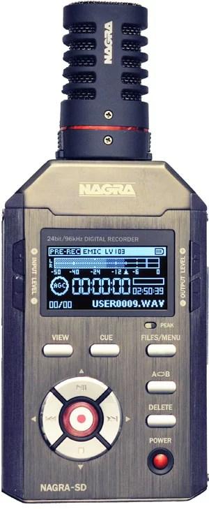 Nagra SD enregistreur numérique carte SD radio