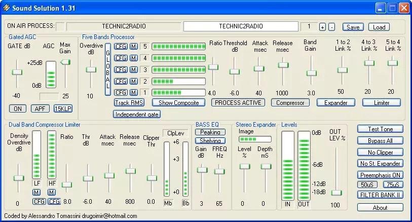 Sound Solution plugin/DSP