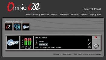 Omnia AX/E encodeur streamer broadcaster