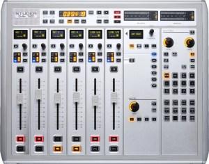 Studer OnAir 1500 Desk   Console Numérique Broadcast pour radio