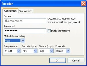 Encoder - RadioCaster DJSoft