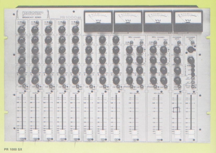 Power PR 1000 SX