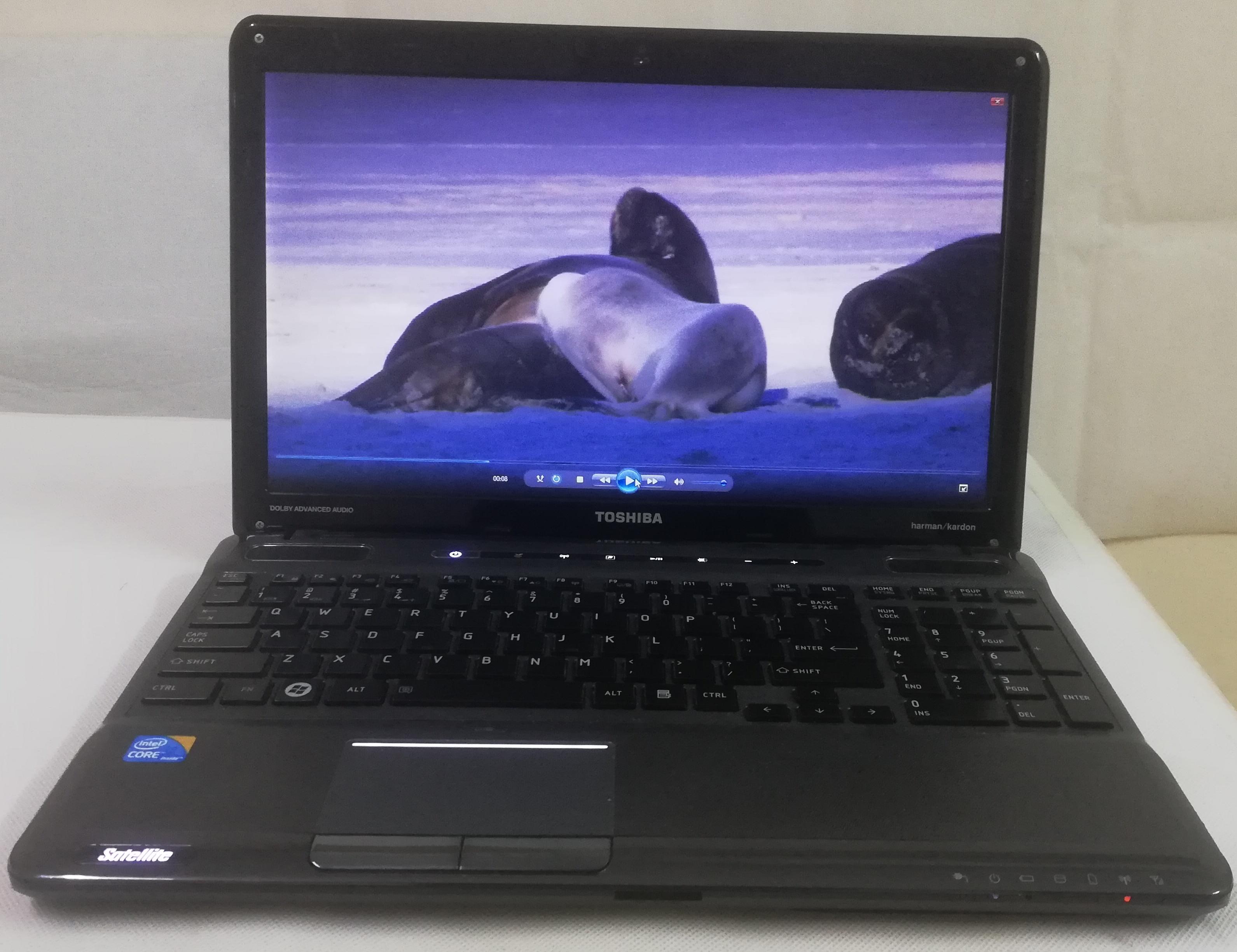 Toshiba satallite core I3 A665