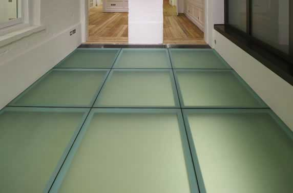 internal fire rated floor system
