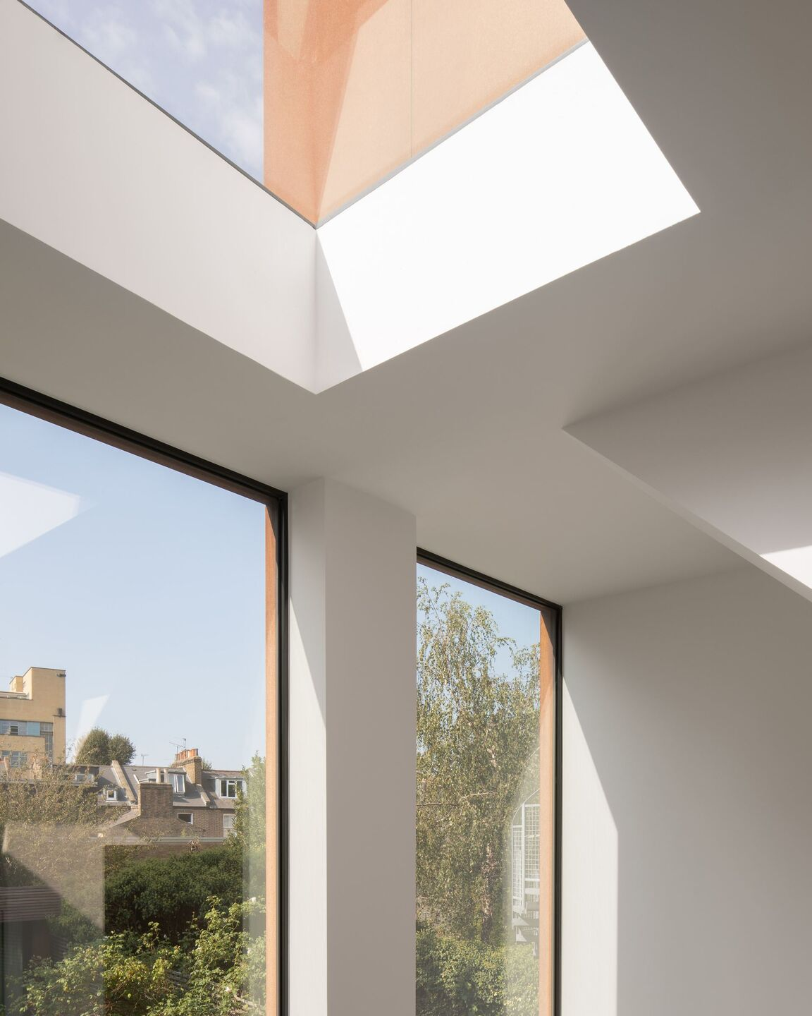 frameless windows and rooflight