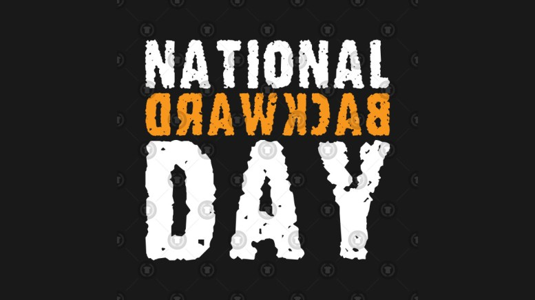 national-backwards-day, national backward day, national backward day 2020, national backward day clip art