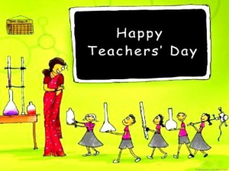Happy Teacher day Gif
