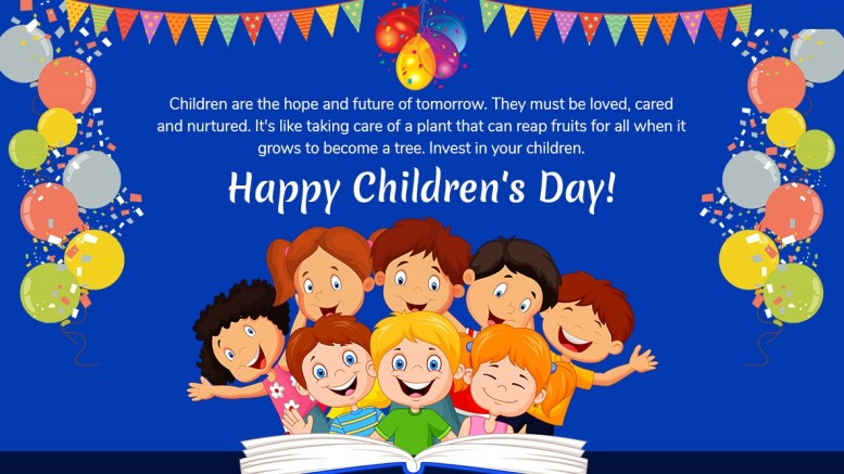 Happy children day whatsapp