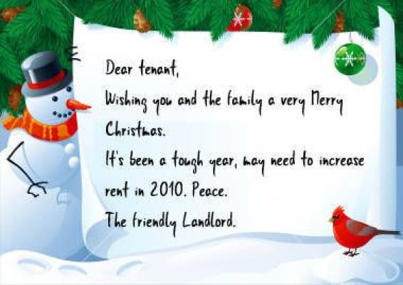 Strict Christmas Card Greetings