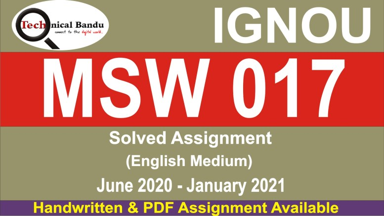 ignou msw assignment 2020-21 in hindi; msw solved assignment free download; msw solved assignment in hindi; msw 1st year assignment 2020; ignou assignment; ignou msw 1st year assignment; ignou assignment 2020; ignou msw second year solved assignments