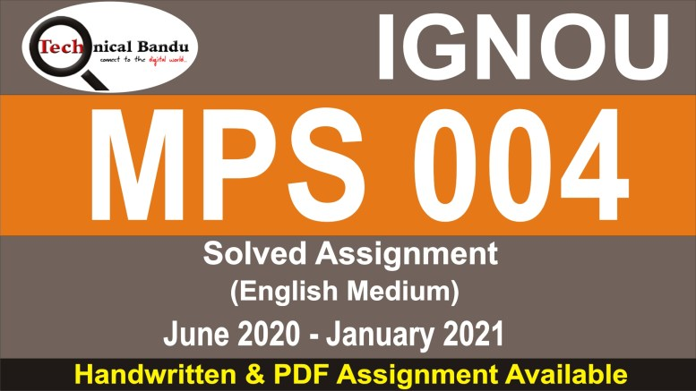 mps 004 solved assignment in hindi 2020-21; mps 004 solved assignment in hindi 2018-19; mps-003 solved assignment; ignou mps solved assignment free; mps assignment 2020; mps 002 solved assignment 2019-20; mps 01 solved assignment; mps 001 solved assignment in hindi 2019-20