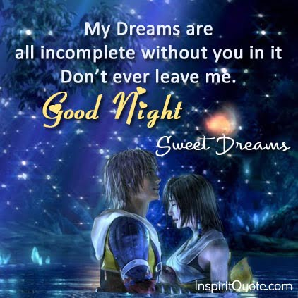 Good Night Images with Love Quotes and Sayings DP