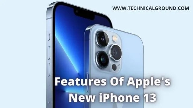 What Are The Features Of Apple's New iPhone 13 And The New Seven Series Smart Watch?