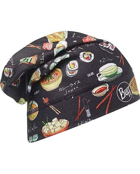 "Studio photo of the Buff® Chef's Collection Hat design ""Japonice"". Source: buff.eu"