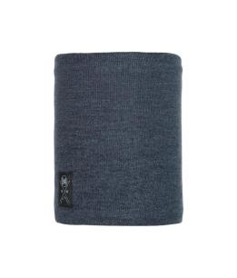 "Studio photo of the Neo Knitted & Polar Neckwarmer Design ""Navy"". Source: buff.eu"