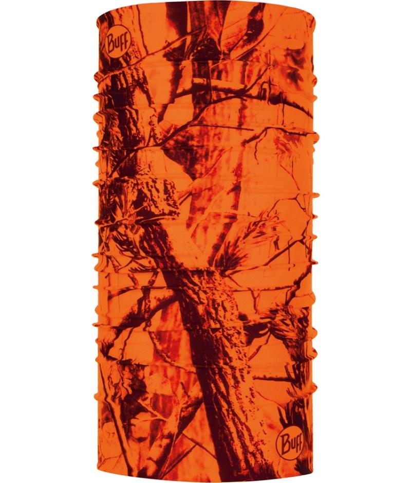 "Studio photo of the Coolnet UV Plus Design ""Blaze Orange"". Source: buff.eu"