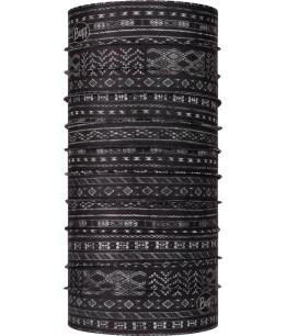 "Studio photo of the Coolnet UV+ BUFF® Design ""Sadri Black"". Source: buff.eu"