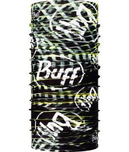 "Studio photo of the Coolnet UV+ BUFF® Design ""Ulnar Black"". Source: buff.eu"