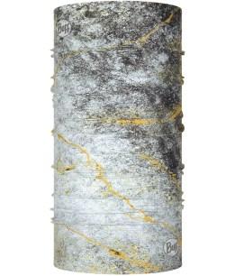 "Studio photo of the BUFF® Coolnet UV+ Design ""Metal Grey"". Source: buff.eu"