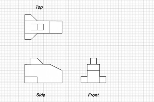 Tutorial Orthographic Projections Amp Basic Isometrics
