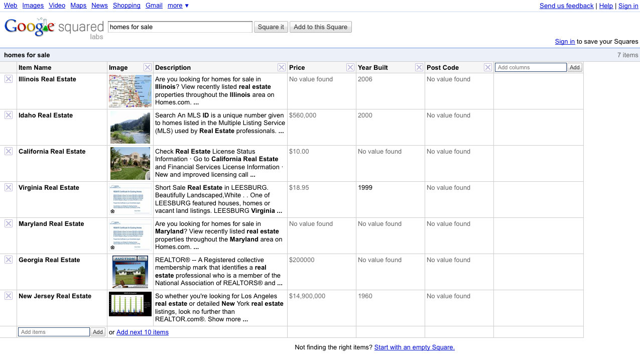Homes For Sale Search Results