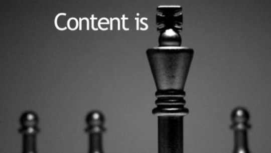 When it Comes to Blogging Content is King